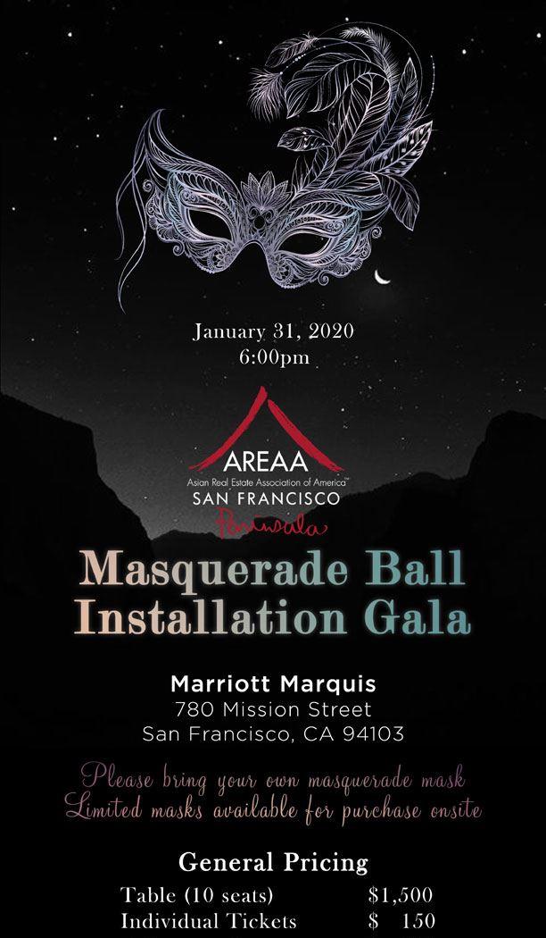 MASQUERADE BALL INSTALLATION GALA