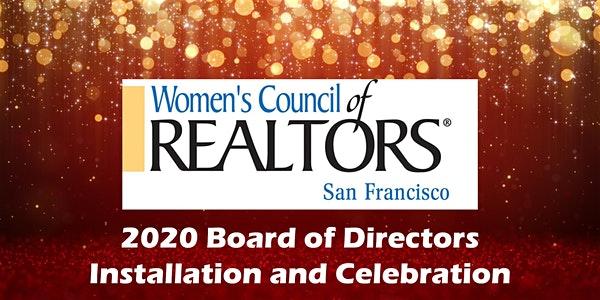 2020 Officer Installation Women's Council of Realtors SF