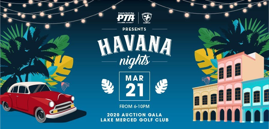 ANNUAL AUCTION GALA is the FSK PTA's MAJOR EVENT FUNDRAISER